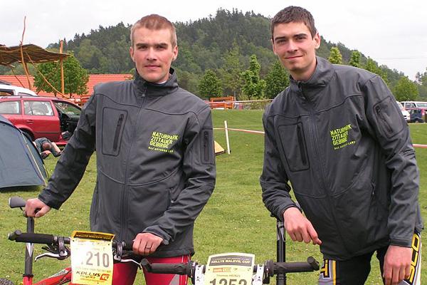 Das Outdoor Land-Team: Rico Fahr und Thomas Heinze