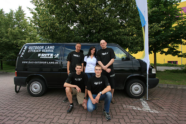 Das Outdoor-Land-Team