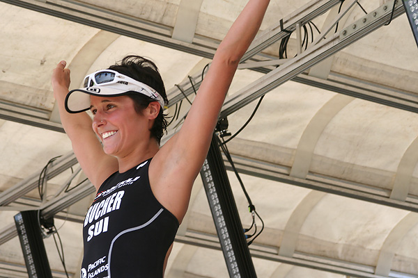 Strahlende Siegerin: Platz 1 für die Schweizerin Renata Bucher
