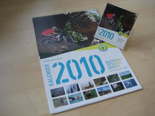 Outdoor Land Kalender 2010