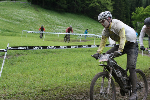 Katja beim Zieleinlauf