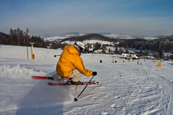 Ski-Alpin am Lauschehang