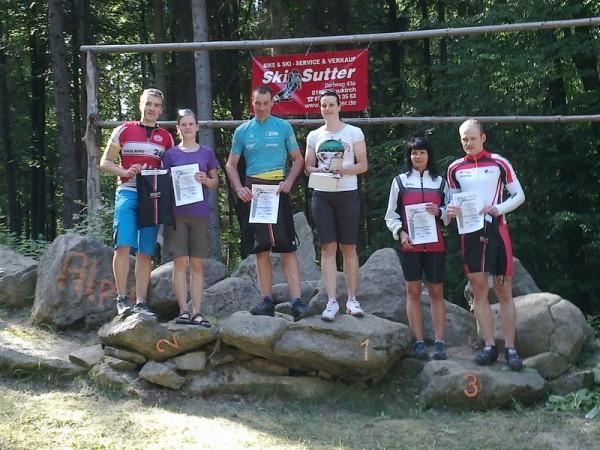 1. Platz für Susann Arndt und René Dutschke in der Mixed-Gesamtwertung
