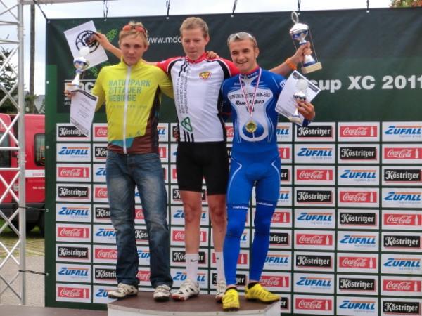 Platz 2 ging an Christian Dollinger vom Team Naturpark Zittauer Gebirge