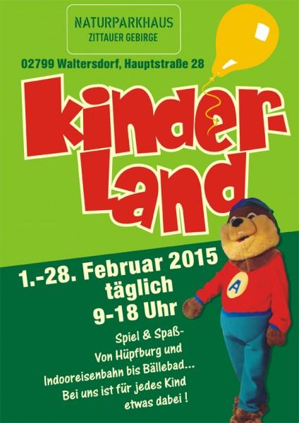 2015 Plakat Kinderland A4