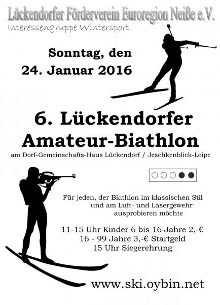 6. Lückendorfer Amateur-Biathlon